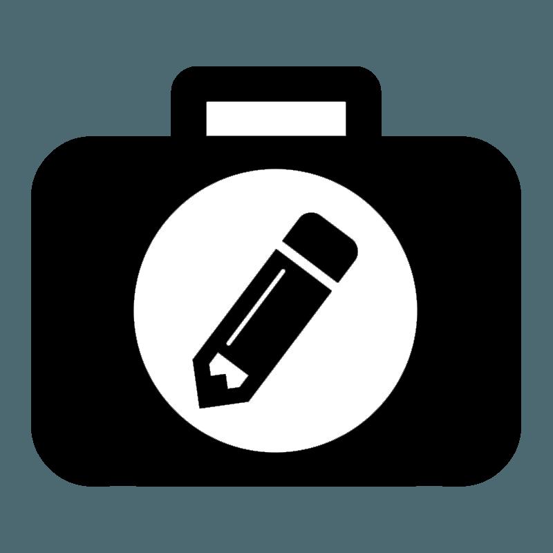 Proofwriting New logo black
