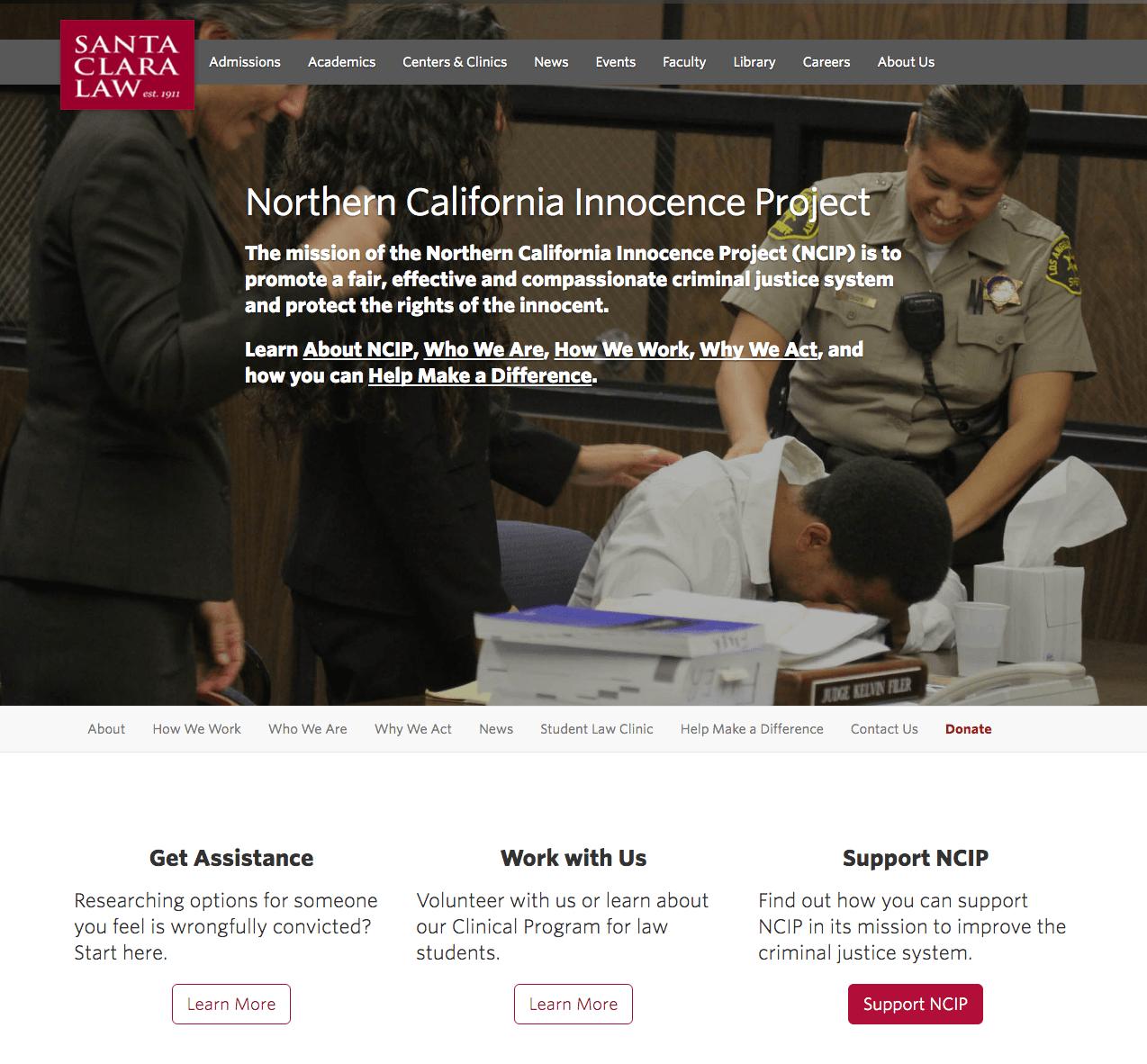 NCIP Home Page 5/2016